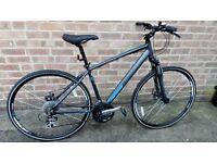 Mens Merida crossways 20 hybrid bike