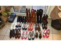 18 pairs of Joblot shoes sizes 6-7