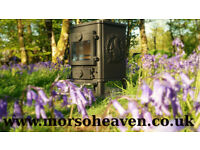 Morso Squirrel 1410 Air Wash, Multifuel Stove from Morso_Heaven. Delivery Available.