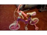 Young girls bike
