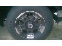 4x4 v-tec rims and tyres