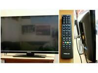 "Finlux Flat Screen 32"" TV For Sale"