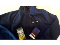 Berghaus Ben Oss windproof fleece jacket (Size M, Colour Dusk) brand new with tags