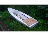 Lazer 2 hull for sale with trailer