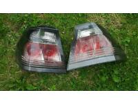 BMW 318 smoked rear lights