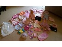 Baby Born Job Lot of Clothing & Accessories