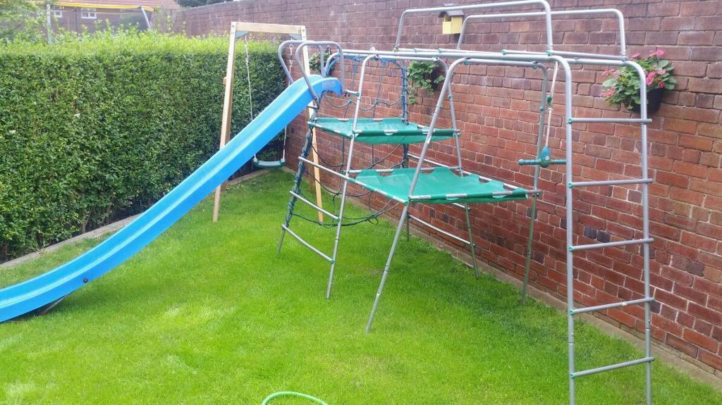 Metal Climbing Frame With Slide In Stoke On Trent
