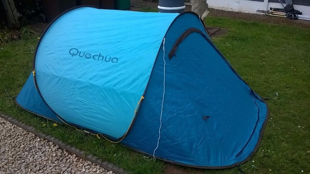 LOVELY QUECHUA 2 SECOND 1 MAN TENT IDEAL FESTIVALS  CAMPING  HIKING ECT & LOVELY QUECHUA 2 SECOND 1 MAN TENT IDEAL FESTIVALS  CAMPING ...