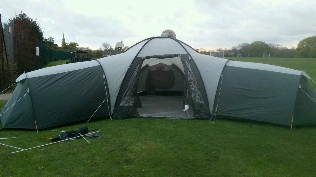 Pro Action Canberra 9 man dome tent & Pro Action Canberra 9 man dome tent | in Basingstoke Hampshire ...