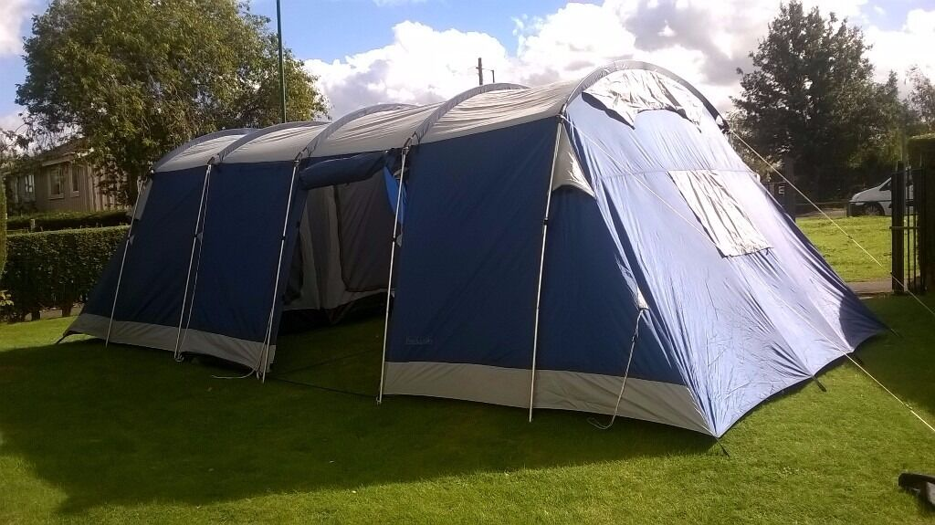 LOVELY LARGE 8 BERTH TENT STAND UP INSIDE & LOVELY LARGE 8 BERTH TENT STAND UP INSIDE | in Bilborough ...