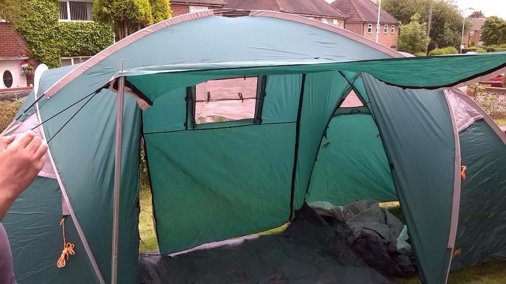 Halfords Family Tent 4 persons 2 rooms & Halfords Family Tent 4 persons 2 rooms | in Crewe Cheshire | Gumtree