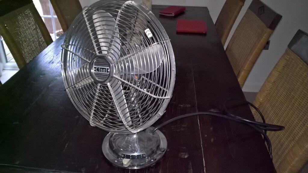 Cinni Retro Table Top Fan