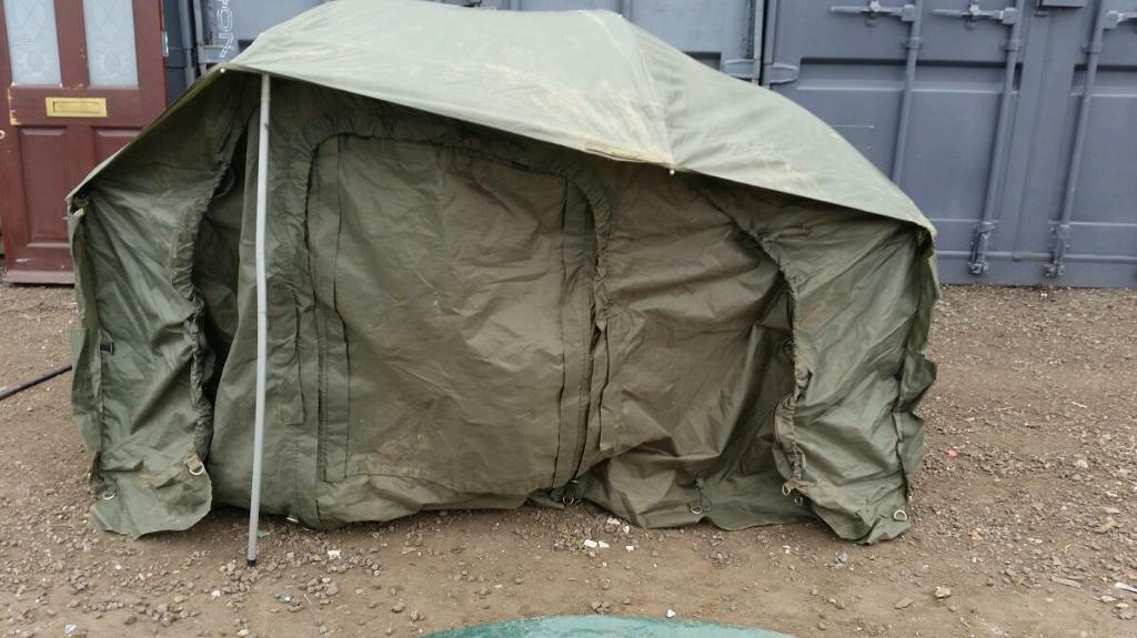 Fox warrior ovel bivvy tent brolly system & Fox warrior ovel bivvy tent brolly system | in Romford London ...