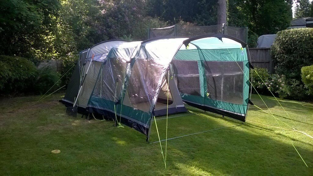Outwell Birdland 3 Tent with front extension. & Outwell Birdland 3 Tent with front extension. | in Crowthorne ...