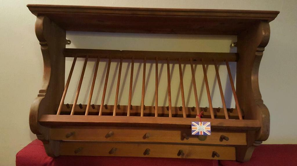 Penny Pine Plate Rack & Penny Pine Plate Rack   in Stow on the Wold Gloucestershire   Gumtree