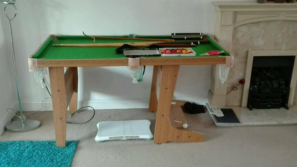Amazing Child Size Snooker/pool Table
