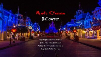 Magic Kingdom Halloween (Boo Too You Parade, Hallo-Wishes Fireworks)