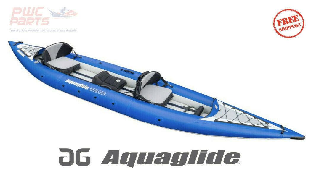 AQUAGLIDE CHELAN TANDEM XL 3 Person Inflatable Ocean & Touri