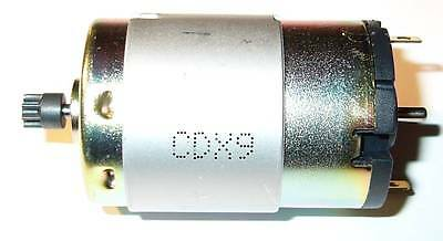 12 V Igarashi Dc Motor With 8 Tooth Gear - 10000 Rpm - 12 Vdc - 10000 Rpm