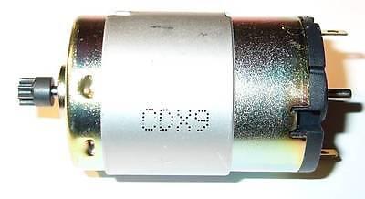 12 V Igarashi Dc Motor With 8 Tooth Gear - 10000 Rpm - 12 Vdc - 10000 Rpm