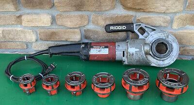 Ridgid 690 Pipe Threading Threader Machine 12-2 Dies Rigid 300 700 3