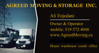 Agreed Moving Inc. 24' Truck, Best Price, Exceptional Service