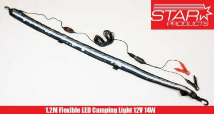 1.2M Camping AMBER LED Flexible Light Strip 12V 14W ANTI INSECT Malaga Swan Area Preview