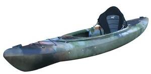 SIT IN FISHING Kayak CANOE 3 M Fishing Super Stable ALL ROUNDER Erina Gosford Area Preview