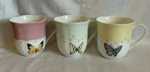 Lenox Buttery Meadow Cup Set Of 3