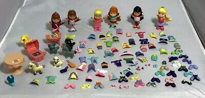 FISHER PRICE SNAP N STYLE MEGA LOT W/ 3 DOLLS, 2 PETS, BABY, OUTFITS 50+ PIECES