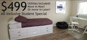 MOVE IN NOW -- ALL INCLUSIVE SPECIAL PRICING