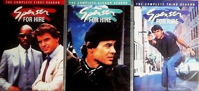 SPENSER FOR HIRE Complete Series on DVD Seasons 1-3 - Season 1 2 & 3 - Spencer