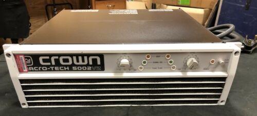 CROWN AUDIO MACRO-TECH MA-5002VZ POWER AMPLIFIER 70available Company Liquidation