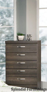 Black Friday Sale Canadian Made 5 Drawer Chest in various Finish