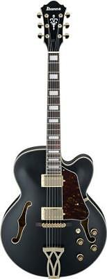 Ibanez AF75G Artcore Hollow Body Electric Guitar, Black Flat for sale  New Berlin