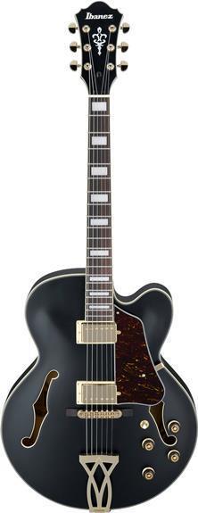 af75g artcore hollow body electric guitar black