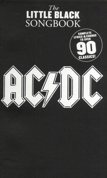 AC/DC LITTLE BLACK SONGBOOK Guitar*