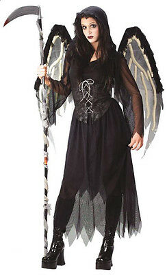 Angel of Death Teen Costume Junior Size 0-9