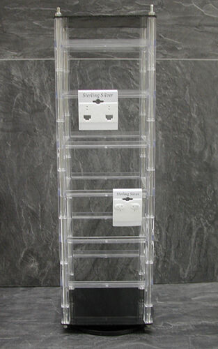 Rotating Hanging Earring Card Jewelry Display Rack