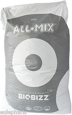 Sustrato Ecologico BioBizz ALL-MIX 50 Litros, Bio Bizz AllMix TIERRA, Grow