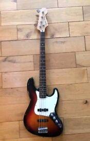 SQUIER JAZZ bass guitar