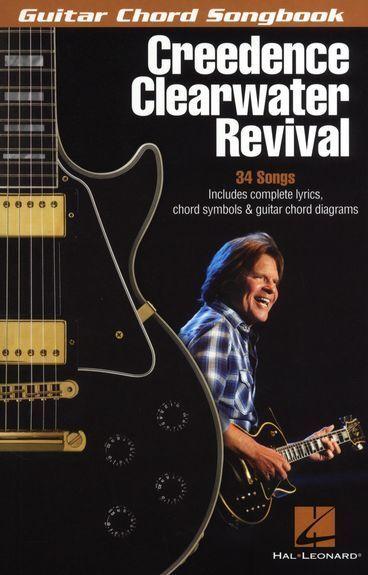 Creedence Clearwater Revival Guitar Chord Songbook Pop Rock Music Book