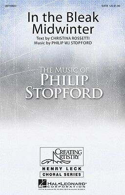 Bleak Midwinter Piano Music (Philip Stopford: In the Bleak Midwinter SATB, Piano Accompaniment Sheet Music)