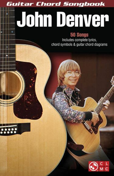 John Denver Guitar Chord Songbook Learn to Play Country Folk Guitar Music Book