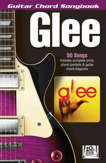Guitar Chord Songbook GLEE Learn to Play Lady GaGa Rock POP Music Book