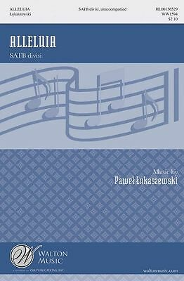 Pawel Lukaszewski Alleluia SATB Sing Concert VOCAL CHORAL CHOIR Music Book