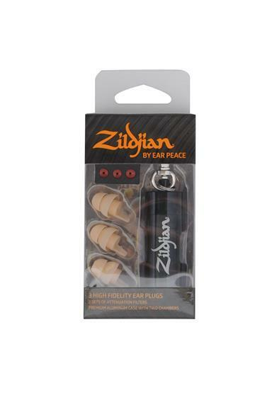 Zildjian ZPLUGSL HD Earplugs by EarPeace Light Ear Plugs Protection New
