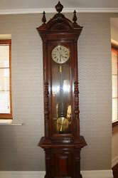 Antique Strasser and Rohde Precision Floor Standing Regulator Clock