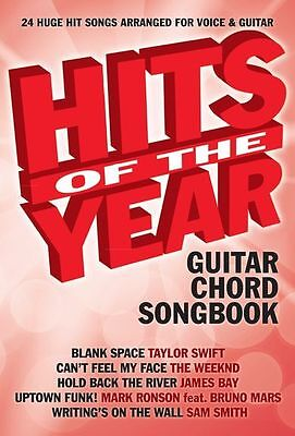 Hits Of The Year 2015 Learn to Play AVICII Sam Smith Pop Songs GUITAR Music Book