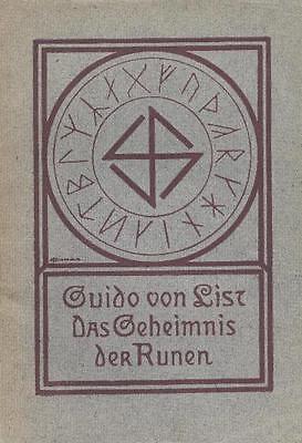 Geheimwissen alt! Guido von List, Geheimnis der RUNEN! Thule ? Ist MACHT!